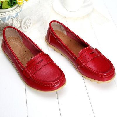 Artificial Leather Breathable Slip-on Soft Flat Loafers