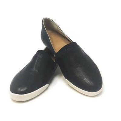 Comfy Pu Slip-On Flats Shoes