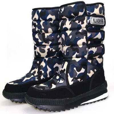 Waterproof Warm Large Size Snow Men Boots