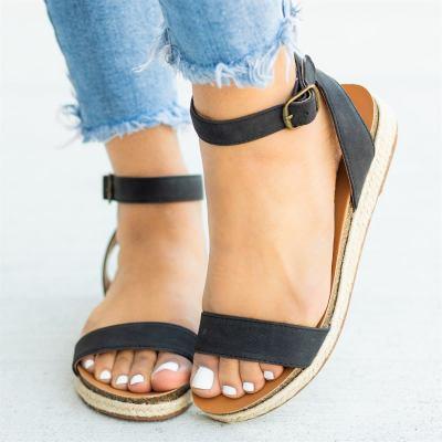 Espadrille Open Toe Sandals
