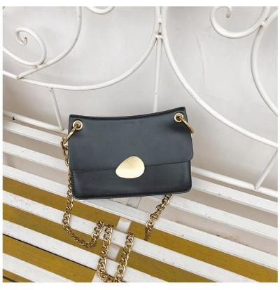 Summer small fresh new style messenger bag women's versatile fashion simple chain