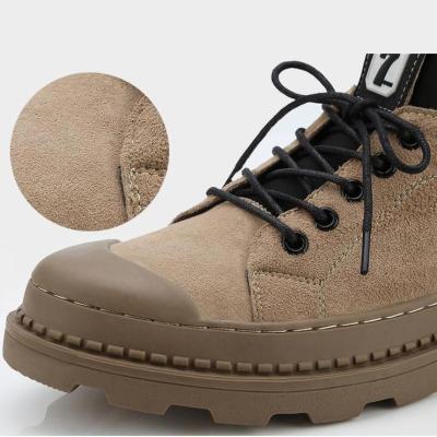 Warm versatile tooling high-top Martin boots