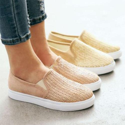 Women Casual  Flat Heel Canvas Sneakers