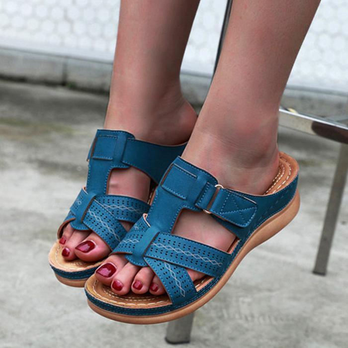 Shoes Premium Orthopedic Open Toe Sandals Vintage Anti-slip Breathable