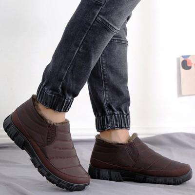 Winter Cotton Boots Waterproof Warm Casual Shoes