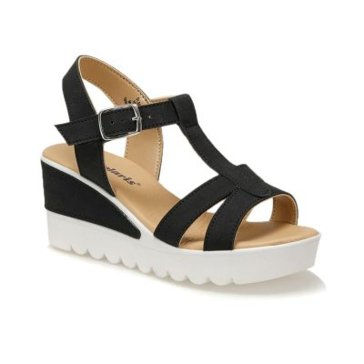 Sandals Woman Summer Wedge Sandals Female High Heel Sandals Fashion Ankle Strap Open Toe Ladies Shoes