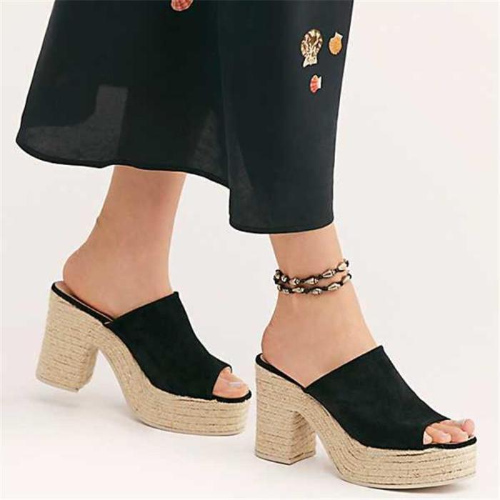 Summer High-Heeled Platform Wears Sandals