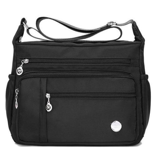 Women Nylon  Waterproof Light Shoulder Bags Outdoor Sports Crossbody Bags