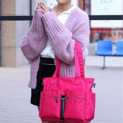 Nylon Waterproof Multi-pockets Handbag Crossbody Bags