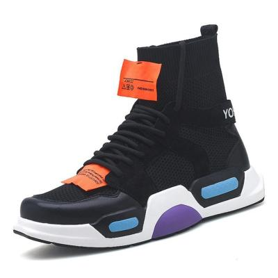 Men's Harajuku hip hop high-top sport sneakers