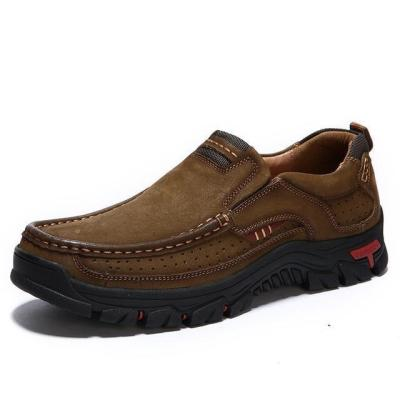 Men Leather Hiking Shoes