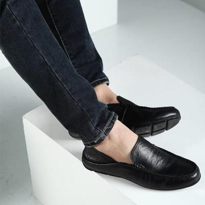 Genuine Leather Slip On Loafers Moccasins Shoes Flats Shoes