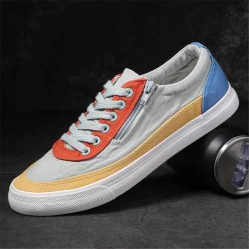 Canvas low cut breathable versatile casual shoes