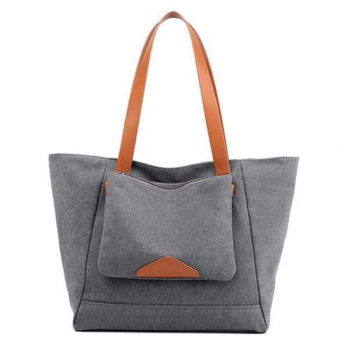 Leisure Canvas Tote Bag Handbag Outdoor Travel Shoulder Bag