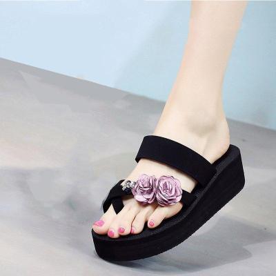 Summer Beach Casual Flower Flip-flops Sandals