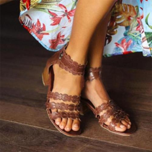 Women Summer Elegant Open Toe Sandals