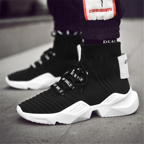 Men's casual high-top sport sneakers