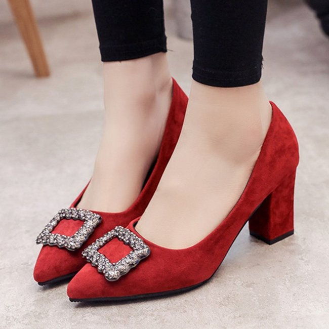 Daily Summer Block Heel Heels