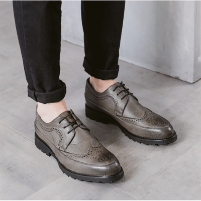 Autumn Brock Carved Thick-Soled Casual Shoes