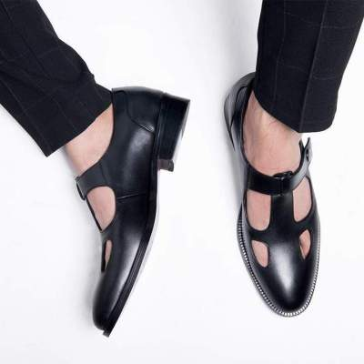 Mens Summer Comfortable Hollow-out Flats