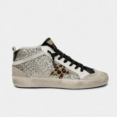 Leopard Daily Lace Up Sneakers
