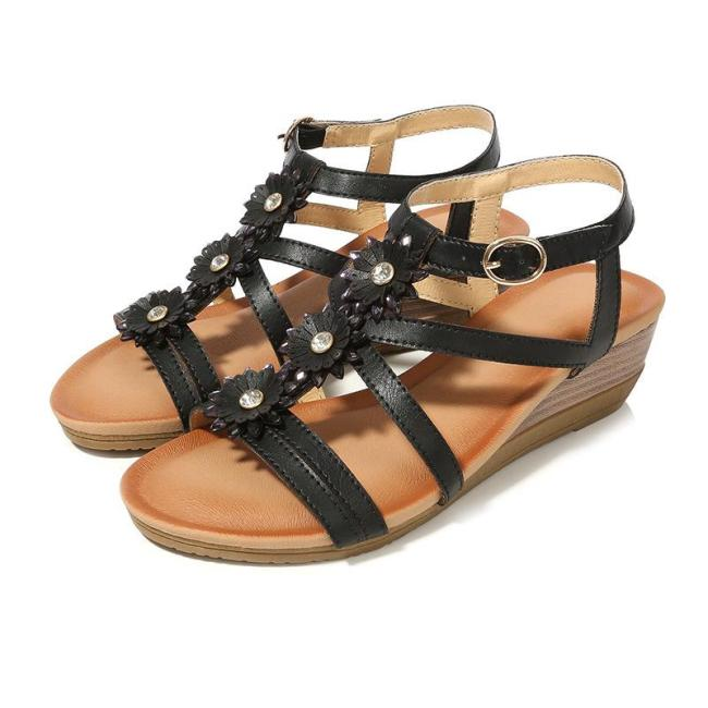 2020 New Bohemian Women's Sandals Roman Shoes Women's Shoes