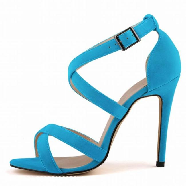 Sexy Suede High Heel Party Shoes