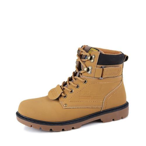 Casual Shoes Quality Walking Rubber Men Boots