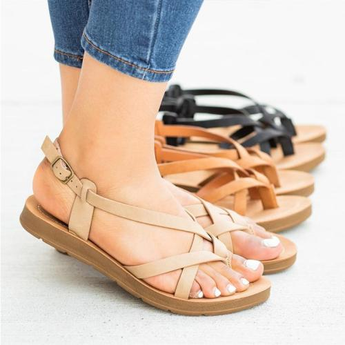 Women Criss Cross Gladiator Sandals
