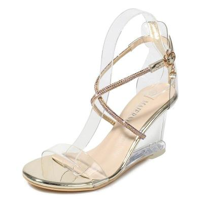 Sandalias Mujer Ladies Wedges High Heels Women Sandals Women Shoes Open Toe Party Women Shoes