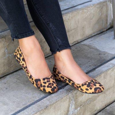 Classic Leopard Ballerina Flats