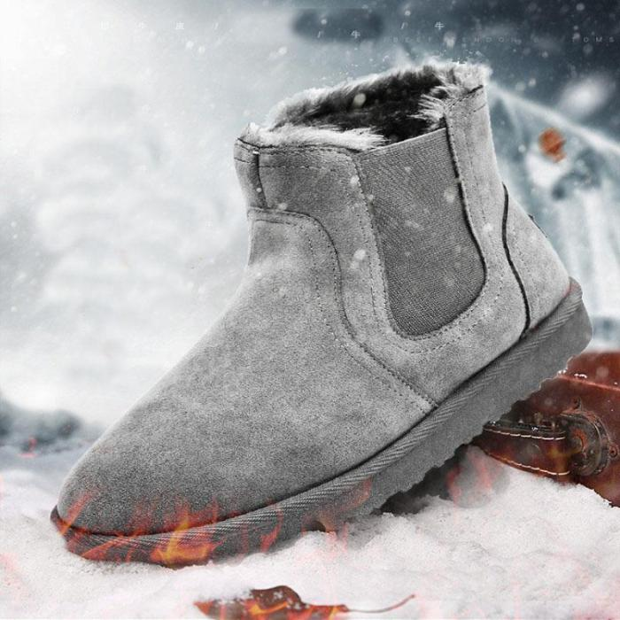 Fashion casual plus cotton high-top snow boots