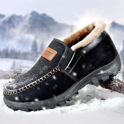 Winter Non-Slip Men's Casual Warm Snow Men Boots