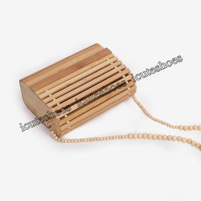 one-shoulder bag beach bamboo bag cross women's bag