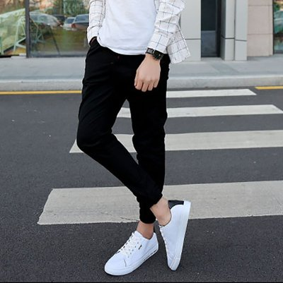 Men breathable casual low help canvas shoes