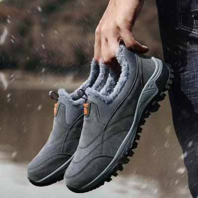 Mens Anti-Slip Outdoor Velvet Sports Shoes