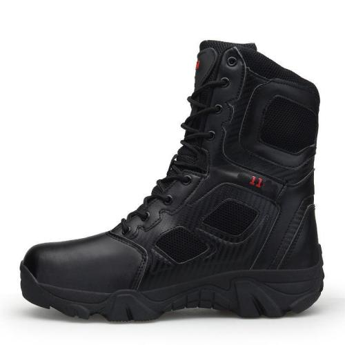 Wear-Resisting Non-Slip Army Men Boots  Waterproof Outdoor Climbing Hiking Men Boots