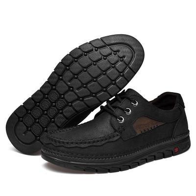Mens Fashion Cargo Shoes Outdoor Hiking Flats