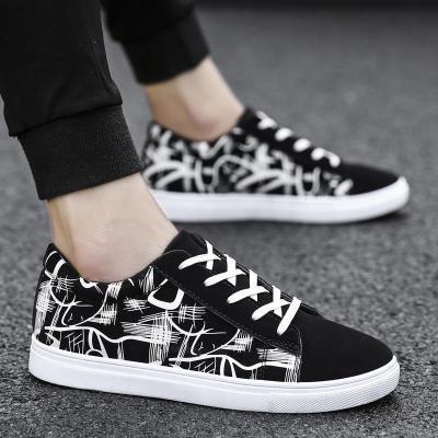 Casual Floral Printed Flat Shoes