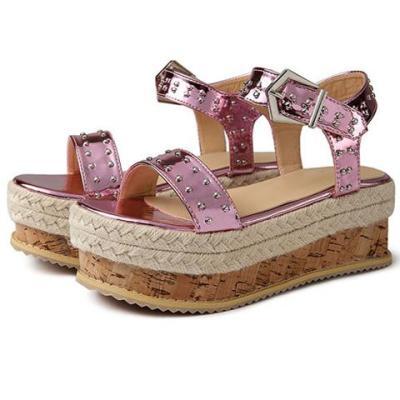 New Women Wedge Heels Gladiator Sandals Classic Ladies High Heels Platform Footwear