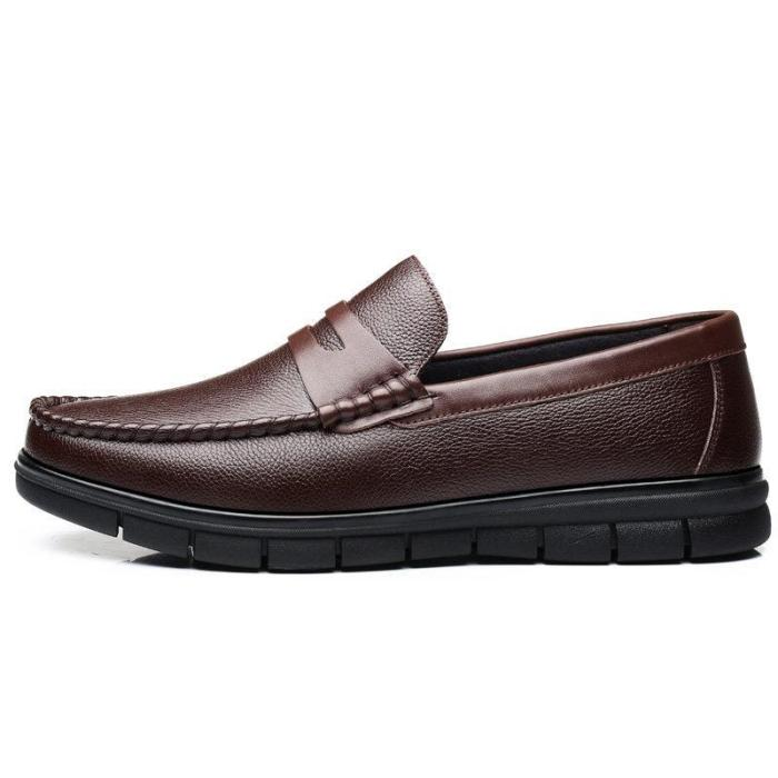 Men Classic Round Toe Low Top Soft Slip On Casual Flats