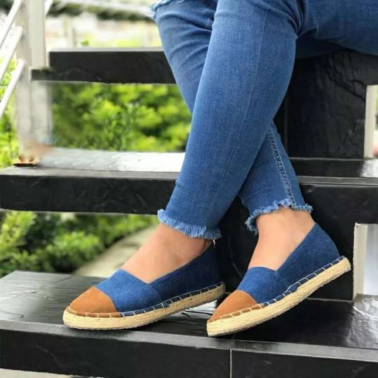 Flat Velvet Round Toe Casual Flat & Loafers