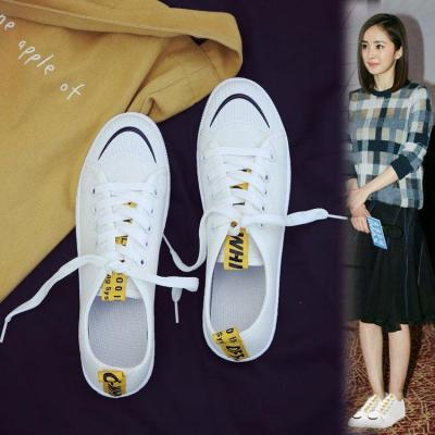 Canvas Shoes Women's 2020 Spring New Casual Single-shoe Flat Non-slip Women's Shoes