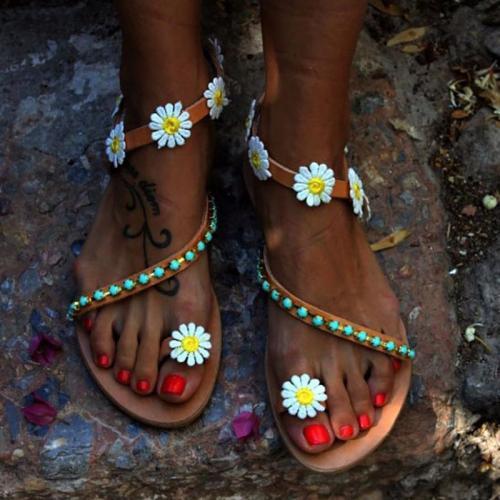 Decorative Hardware  Bohemian Sandals