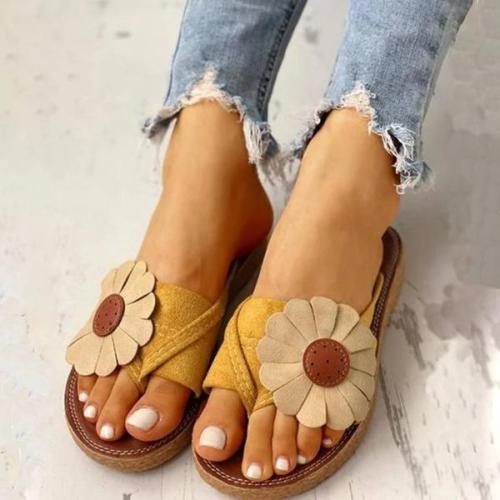 Summer Holiday Flower Sandals