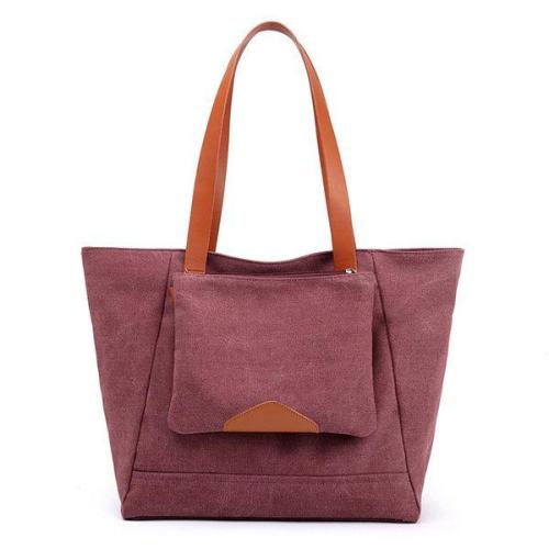 Leisure Canvas Tote Bag Handbag Outdoor Travel Shoulder Bag