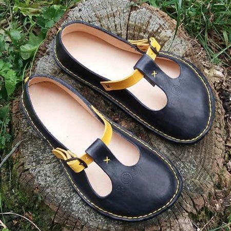 Summer Vintage Flat Heel Soft Shoes