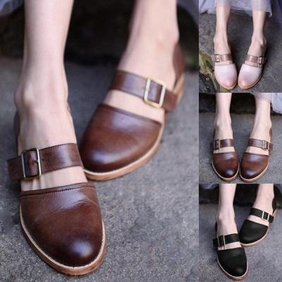 Comfortable Flat Large Size Women's Sandals