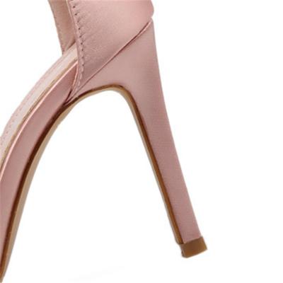 Tasseled Roman high heel sandals