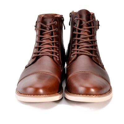 Men's Lace Belt Buckle Martin Boots